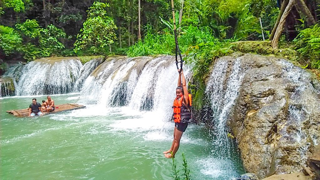 "ALT=""cambugahay falls siquijor island central visayas"""