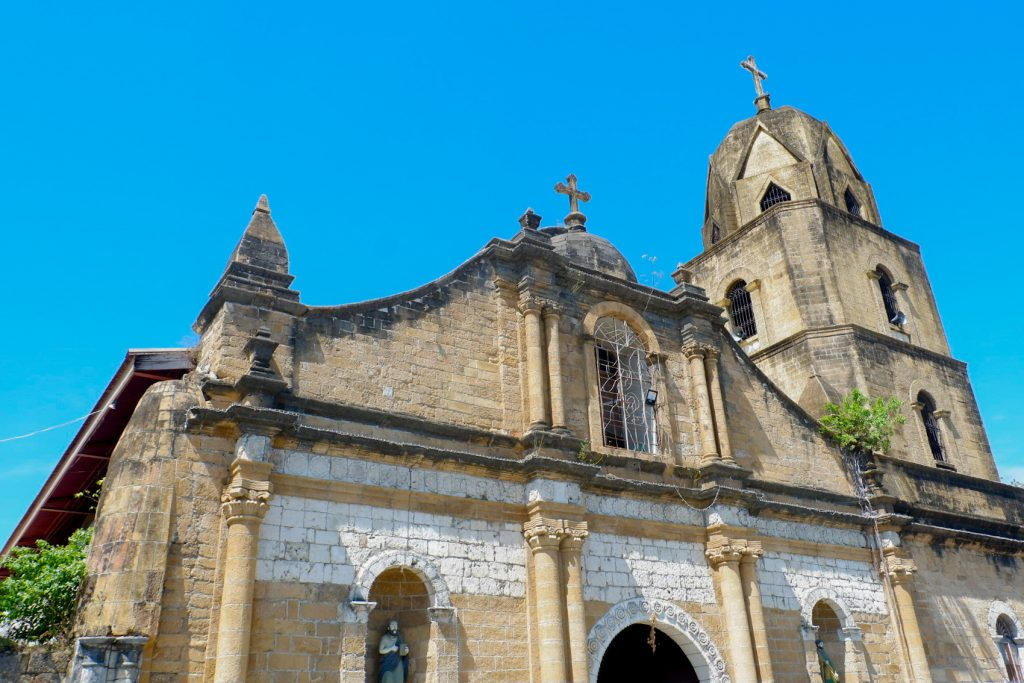 """ALT=""""churches to visit in iloilo and the guimbal church"""""""