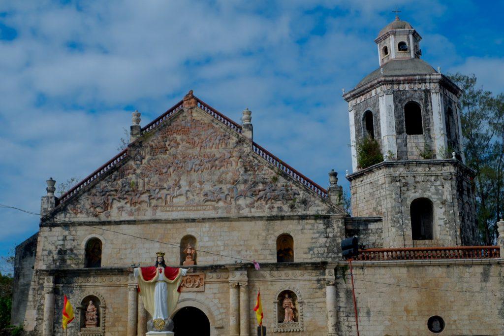 """ALT=""""churches to visit in iloilo san joaquin church"""""""