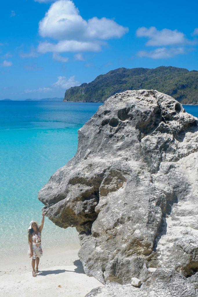 "ALT=""gigantes island gorilla rock at little boracay"""