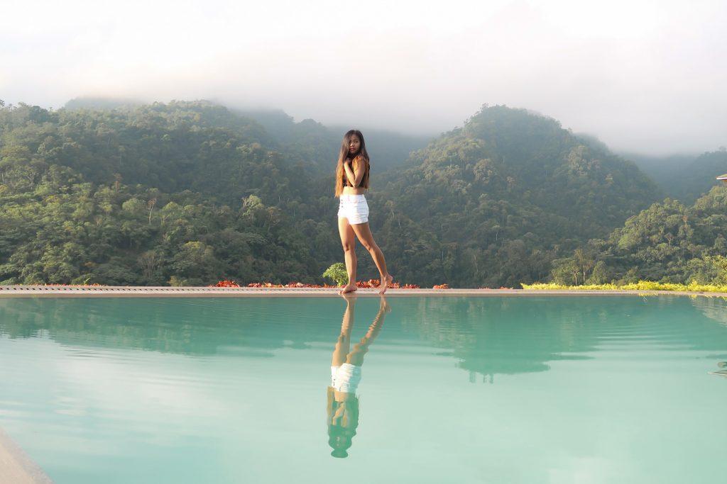"ALT=""vista tala resort and the infinity pool"""