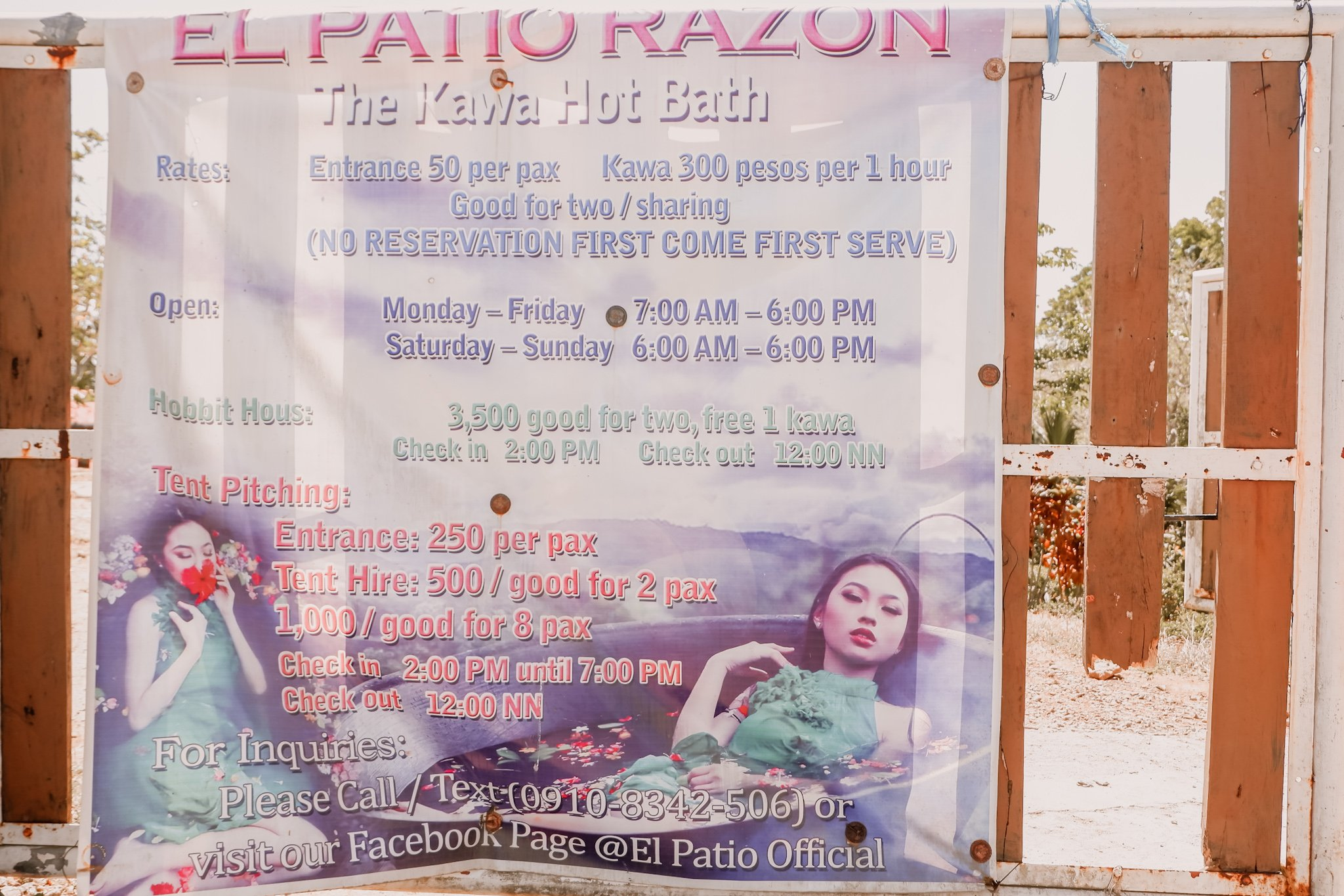 """ALT=""""el patio razon rates for camping and glampling"""""""