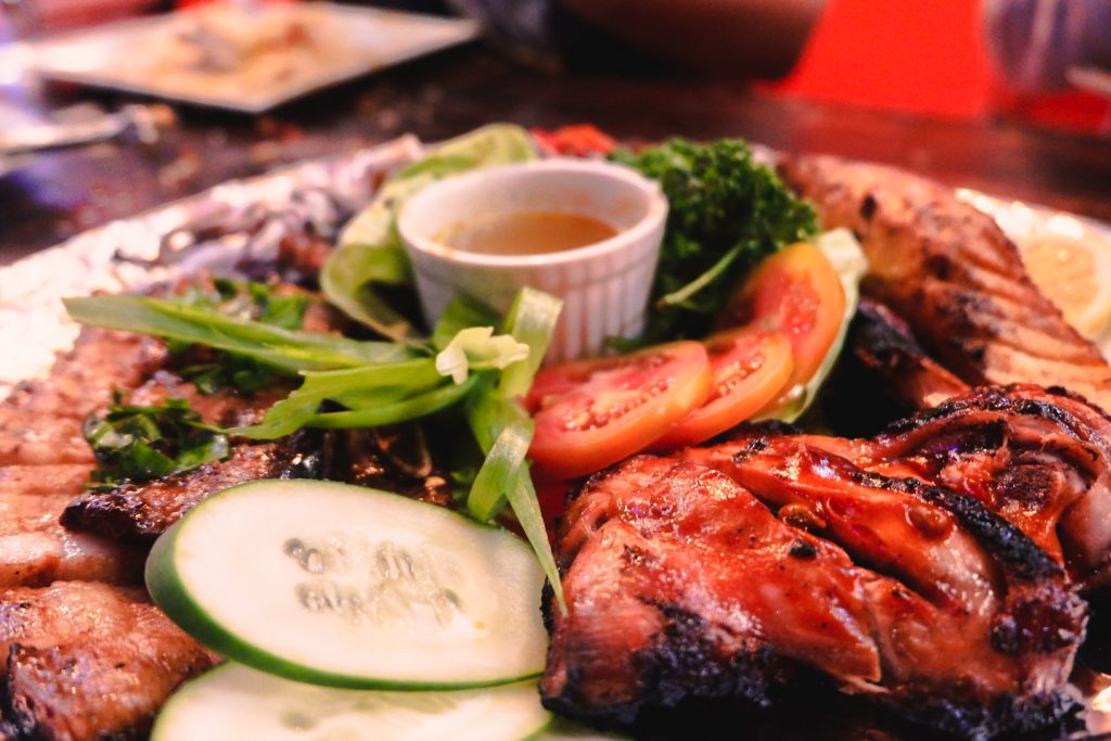 """ALT=""""southside grill and the famous inihaw platter"""""""