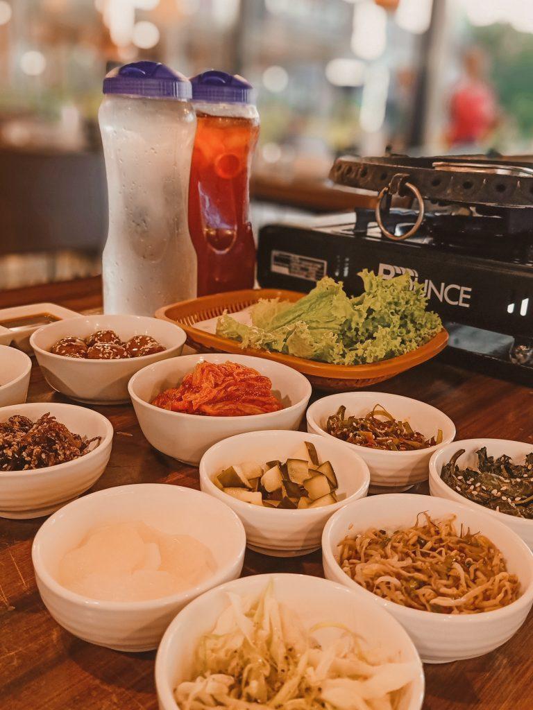 "ALT=""korean side dish at hyeong won restaurant"""
